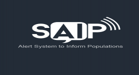 SAIP تطبيق جديد لأنذار  المستخدمين من الهجمات الأرهابية