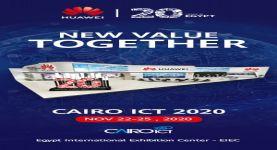 """تحت شعار """"معاً لخلق قيمة جديدة""""  هواوي تستعرض 9 مفاهيم تكنولوجية جديدة خلال معرض Cairo ICT 2020"""