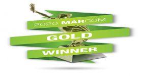 كيونت تفوز بثلاث مداليات ذهبية في حفل توزيع جوائز MarCom السنوي لعام 2020
