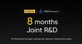 realme تحصد شهادة موثوقية الهواتف الذكية من مؤسسة TÜV Rheinland الألمانية.. وتحتل المركز الرابع في السوق ا