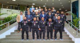شريف فاروق: يكرم فريق البريد للمصارعة بعد حصولهم على بطولة الجمهورية وترشحهم لبطولة العالم ٢٠٢١
